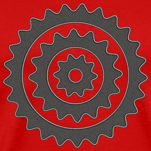 Bicycle Cycling Sprocket T-Shirt - Men's Premium T-Shirt