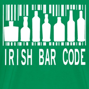 Irish Barcode T-Shirts - Men's Premium T-Shirt