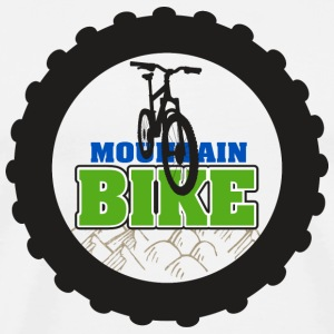Bicycle Mountain Bike MTB T-Shirt - Men's Premium T-Shirt