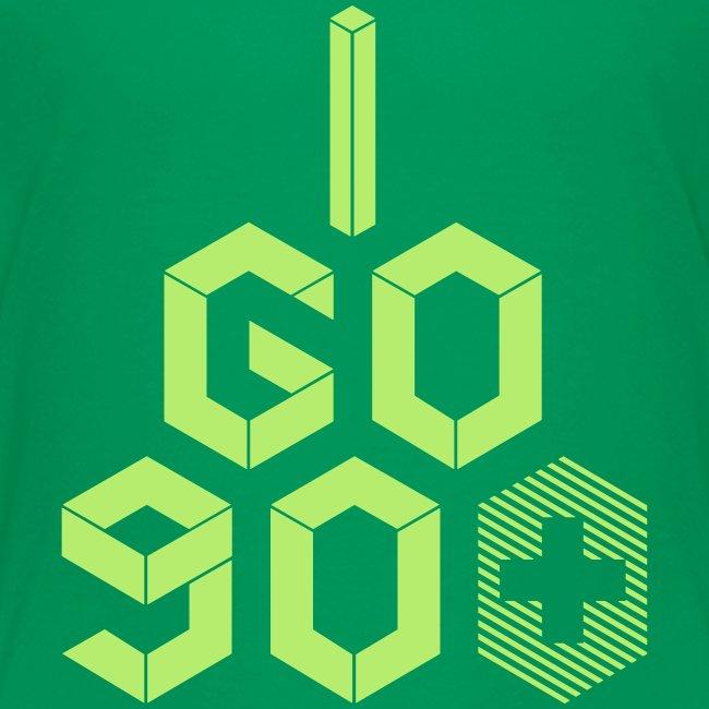 I Go 90+ Youth Tee
