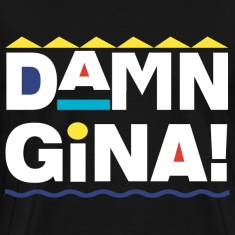Damn Gina Men's T-Shirt