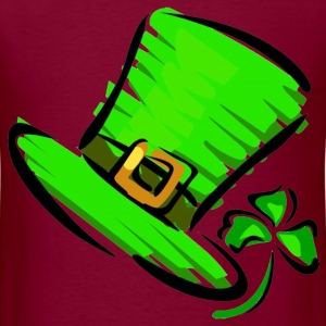 St. Patrick's Day Hat - Men's T-Shirt