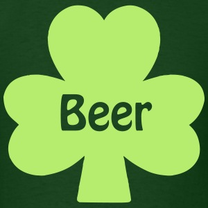 Beer Clover T-Shirts - Men's T-Shirt