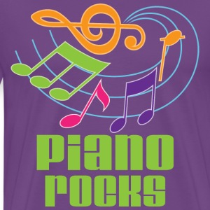 Piano Rocks T-Shirts - Men's Premium T-Shirt
