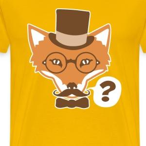 Fox Says What - Men's Premium T-Shirt