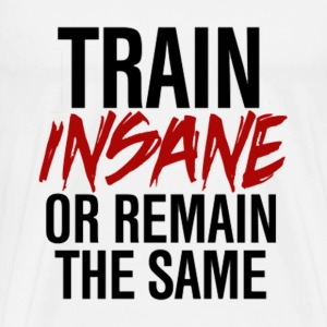 TrainInsane GymWear T-Shirts - Men's Premium T-Shirt