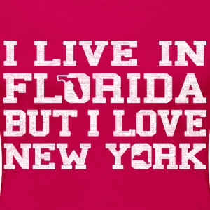 Live Florida Love NewYork clothing apparel Shirt Women's T-Shirts - Women's Premium T-Shirt