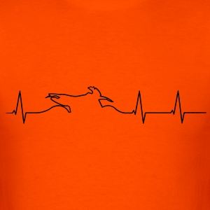 Enduro heartbeat Shirt - Men's T-Shirt