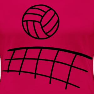 volleyball 1 Women's T-Shirts - Women's Premium T-Shirt