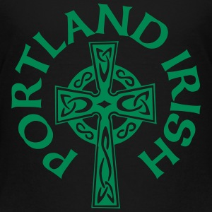 Portland Irish Celtic Cross Apparel Clothing Shirt Baby & Toddler Shirts - Toddler Premium T-Shirt