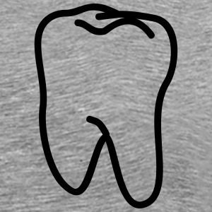 teeth - tooth T-Shirts - Men's Premium T-Shirt