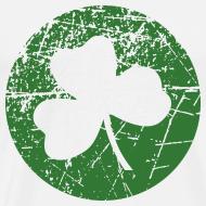 Design ~ Grunge Green Shamrock