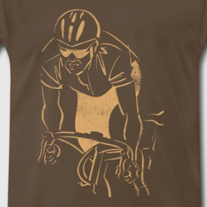 Cycling Dark T-Shirt - Men's Premium T-Shirt