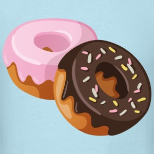 two donut - Men's T-Shirt