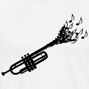 Trumpet sheet music Shirt - Men's Premium T-Shirt