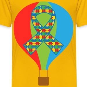 Autism Hot Air Balloon Kids' Shirts - Kids' Premium T-Shirt