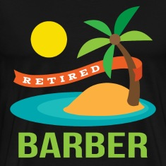 Retired Barber T-Shirts