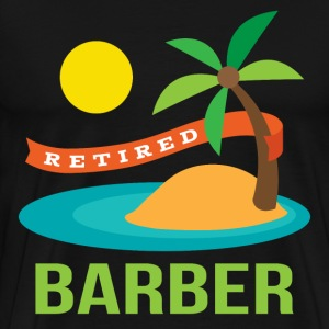Retired Barber T-Shirts - Men's Premium T-Shirt