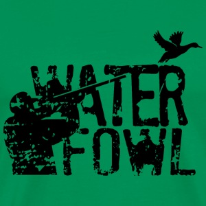 Waterfowl Hunting - Men's Premium T-Shirt