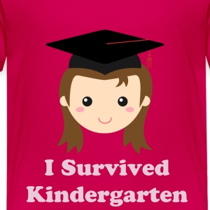 cute graduation girl Kids' Shirts - Kids' Premium T-Shirt