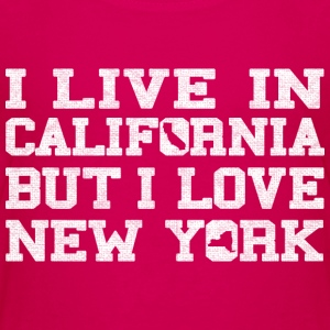 Live California Love New York   Kids' Shirts - Kids' Premium T-Shirt