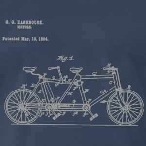 Tandem Bike Conversion Kit 1894 T-Shirt - Men's Premium T-Shirt