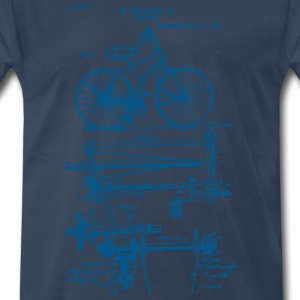 Bicycle Chainless Drive Bicycle 1891 Stillman T-Sh - Men's Premium T-Shirt
