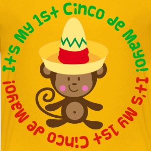 1st Cinco de Mayo Kids monkey Kids' Shirts - Kids' Premium T-Shirt