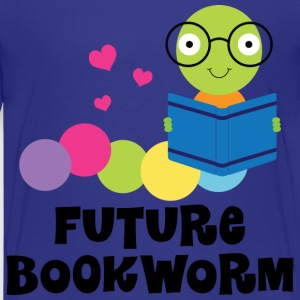 Future Bookworm Kids Reading Kids' Shirts - Kids' Premium T-Shirt