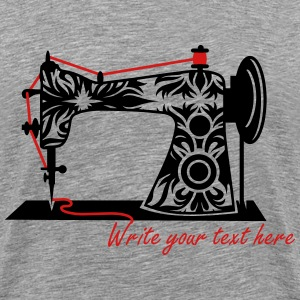An antique sewing machine T-Shirts - Men's Premium T-Shirt
