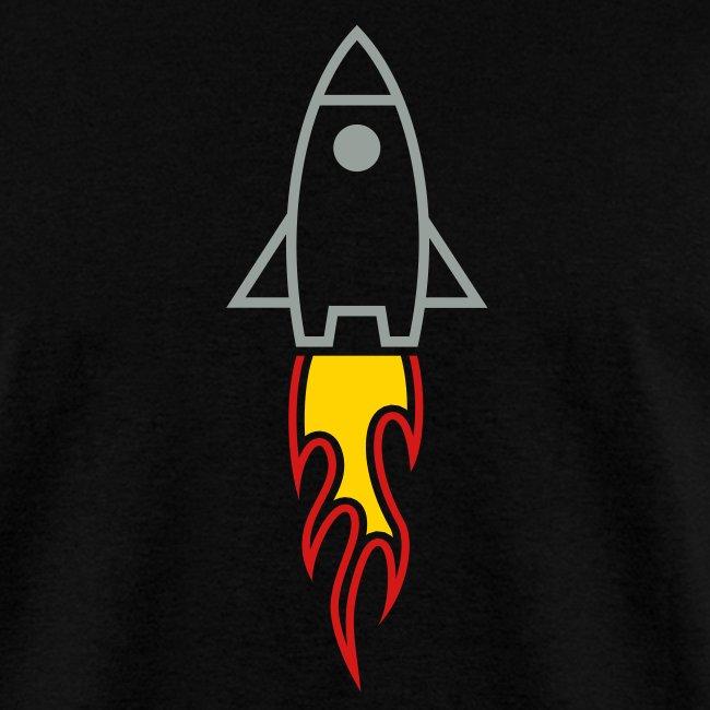 Rocket (Black LW Tee)