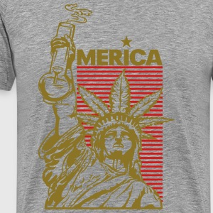 'merica (2 Color) T-Shirts - Men's Premium T-Shirt