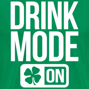 GAME MODE ON IRISH T-Shirts - Men's Premium T-Shirt