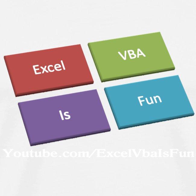 Excel VBA Is Fun!! | Men's Premium T-Shirt