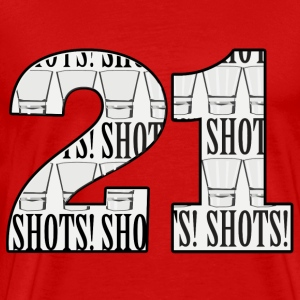 21 Shots - Men's Premium T-Shirt