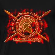 Design ~ spartan warrior-molon labe