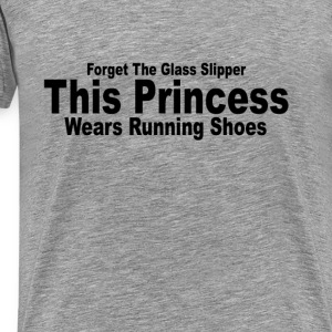 this_princess_wears_running_shoes_tshirt - Men's Premium T-Shirt