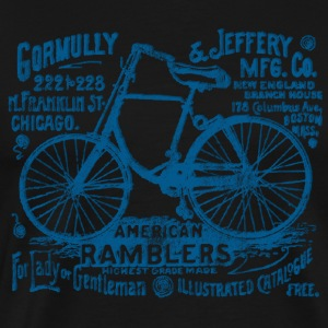 Bicycle Gormully Jeffery Bicyles 1895 T-Shirt - Men's Premium T-Shirt