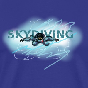 skydiving T-Shirts - Men's Premium T-Shirt