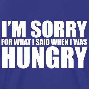Hungry T-Shirts - Men's Premium T-Shirt