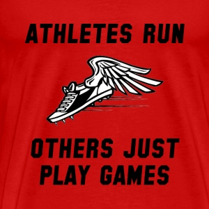 Athletes Run - Men's Premium T-Shirt