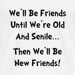 New Friends - Men's Premium T-Shirt