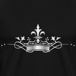 silver crown - Men's Premium T-Shirt