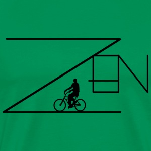 Bicycle Zen Cycling - Men's Premium T-Shirt