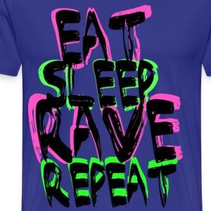 Rave Repeat T-Shirts - Men's Premium T-Shirt