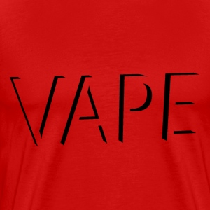 Abstract VAPE - Blk Logo T-Shirts - Men's Premium T-Shirt