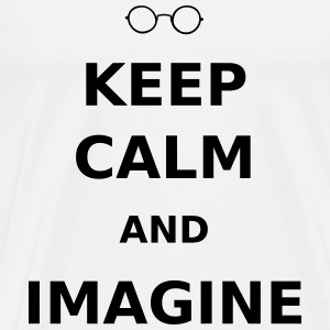 Keep Calm & Imagine T-Shirts - Men's Premium T-Shirt