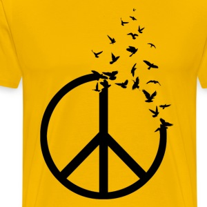 Birds of Peace - Men's Premium T-Shirt