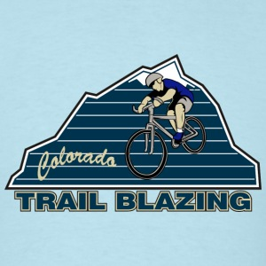 Colorado Mountain Biking - Men's T-Shirt