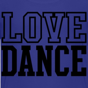 Love Dance Black Kids' Shirts - Kids' Premium T-Shirt
